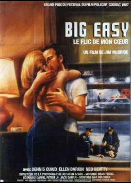 BIG EASY (THE) movie poster