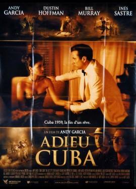 affiche du film ADIEU CUBA