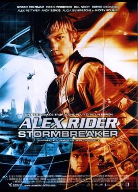affiche du film ALEX RIDER STORMBREAKER