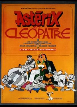 affiche du film ASTERIX ET CLEOPATRE