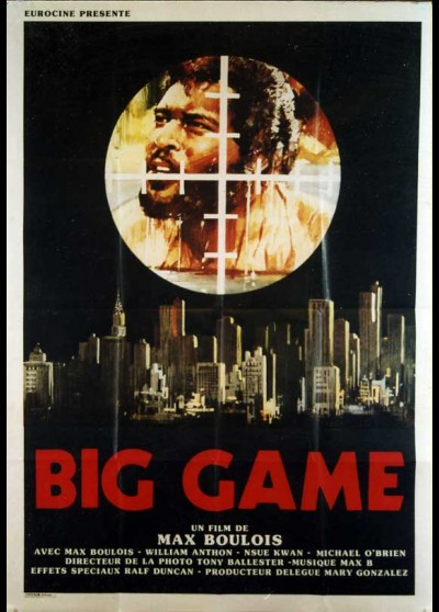 affiche du film BIG GAME