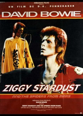 ZIGGY STARDUST AND THE SPIDERS FROM MARS movie poster