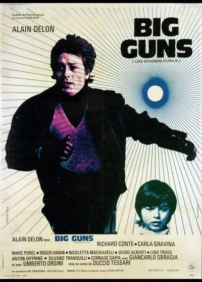 affiche du film BIG GUNS LES GRANDS FUSILS