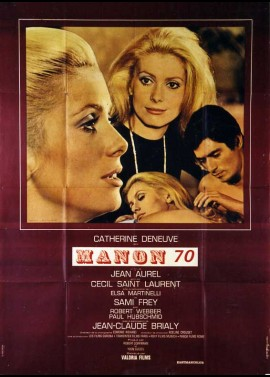 MANON 70 movie poster