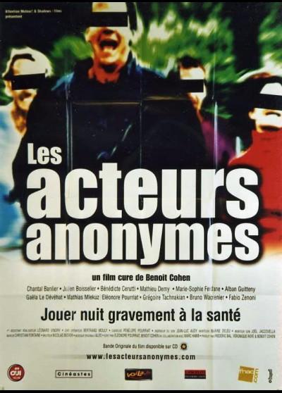 affiche du film ACTEURS ANONYMES (LES)