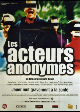 ACTEURS ANONYMES (LES) movie poster