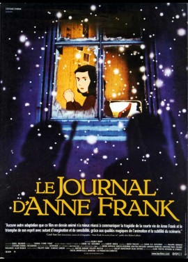 ANNE FRANK'S DIARY movie poster