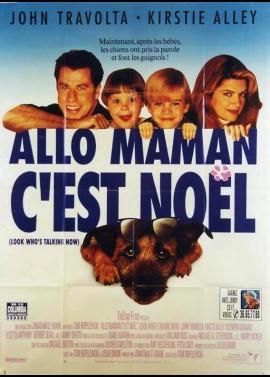 affiche du film ALLO MAMAN C'EST NOEL