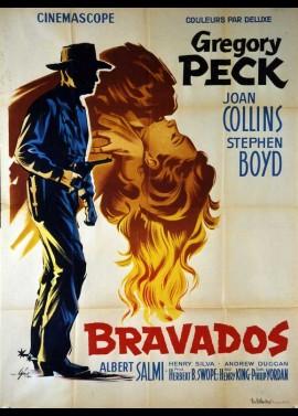 BRAVADOS movie poster
