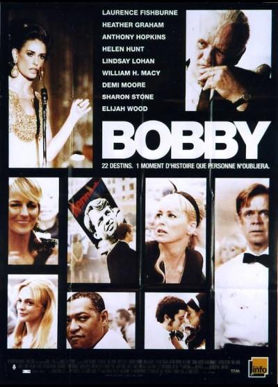 BOBBY movie poster