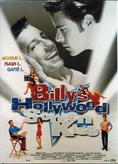 BILLY'S HOLLYWOOD SCREEN KISS movie poster