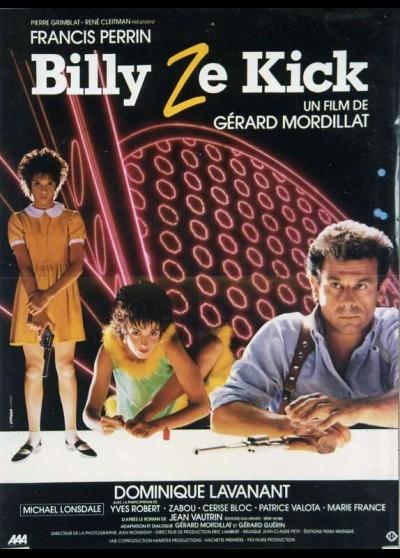 BILLY ZE KICK movie poster