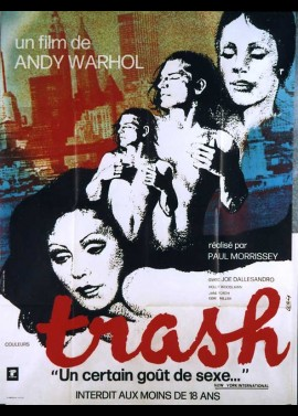 TRASH / ANDY WARHOL'S TRASH movie poster