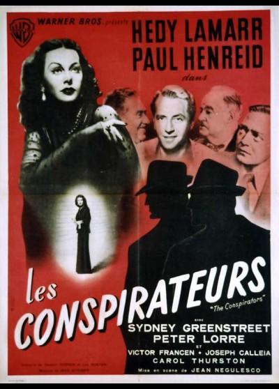 CONSPIRATORS (THE) movie poster