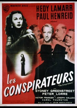 CONSPIRATORS (THE) movie poster