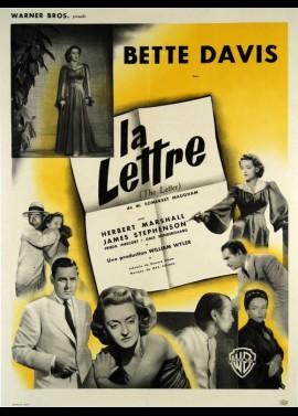 affiche du film LETTRE (LA)