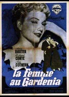 affiche du film FEMME AU GARDENIA (LA)