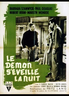 affiche du film DEMON S'EVEILLE LA NUIT (LE)