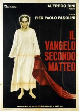 affiche du film EVANGILE SELON SAINT MATTHIEU (L')