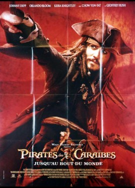 PIRATES OF THE CARIBBEAN AT WORLD'S END movie poster