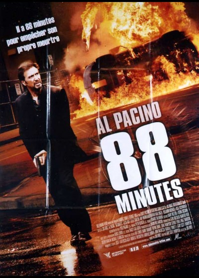 88 MINUTES / EIGHTY EIGHT MINUTES movie poster