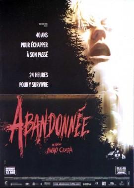 affiche du film ABANDONNEE
