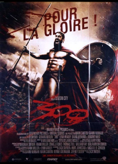 300 / THREE HUNDRED movie poster