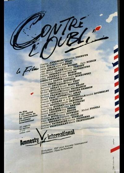 CONTRE L'OUBLI movie poster