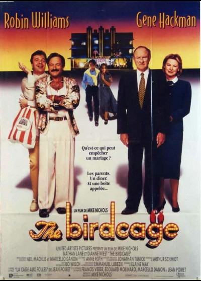 BIRDCAGE (THE) movie poster