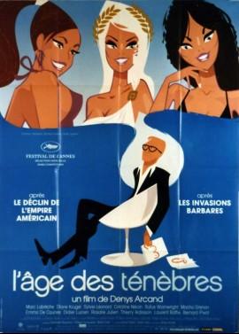 affiche du film AGE DES TENEBRES (L')
