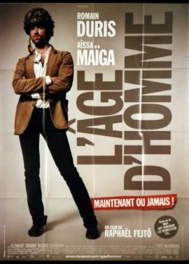 AGE D'HOMME MAINTENANT OU JAMAIS (L') movie poster