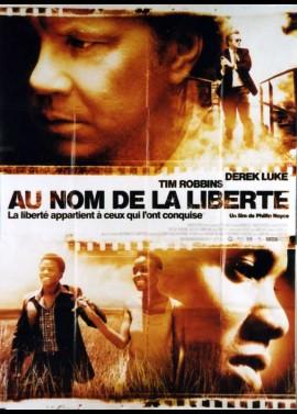affiche du film AU NOM DE LA LIBERTE