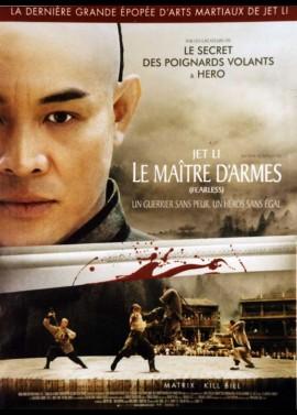 affiche du film MAITRE D'ARMES (LE)