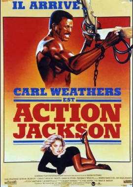 affiche du film ACTION JACKSON
