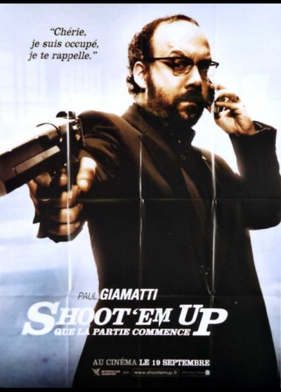 SHOOT EM UP movie poster
