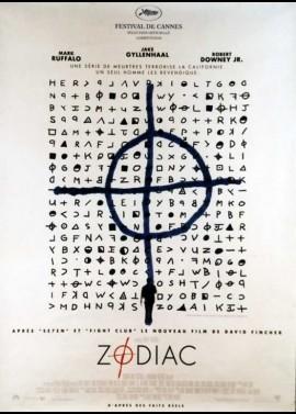 affiche du film ZODIAC