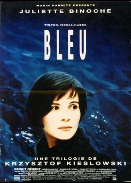 TROIS COULEURS BLEU movie poster