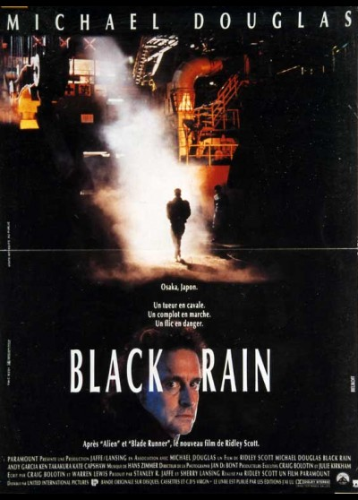 affiche du film BLACK RAIN