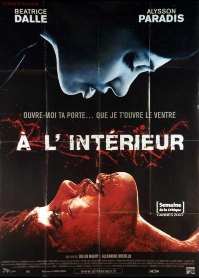 affiche du film A L'INTERIEUR