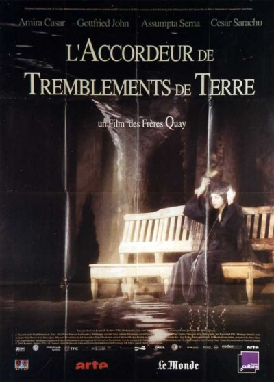 affiche du film ACCORDEUR DE TREMBLEMENTS DE TERRE (L')