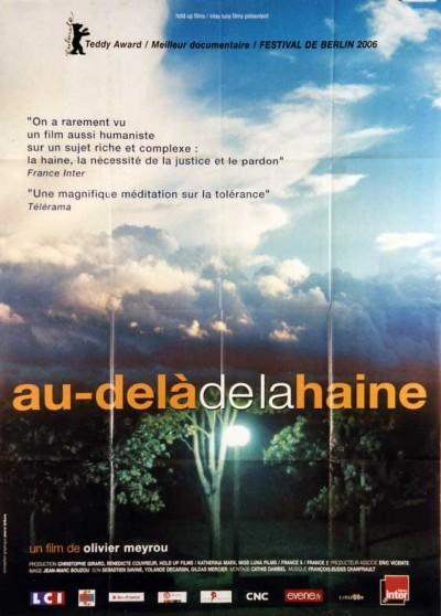 AU DELA DE LA HAINE movie poster