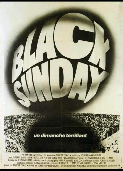 affiche du film BLACK SUNDAY