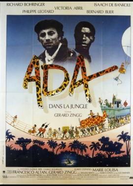 affiche du film ADA DANS LA JUNGLE
