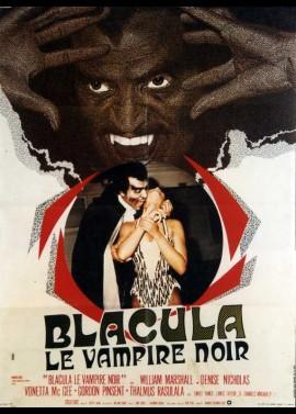 affiche du film BLACULA LE VAMPIRE NOIR