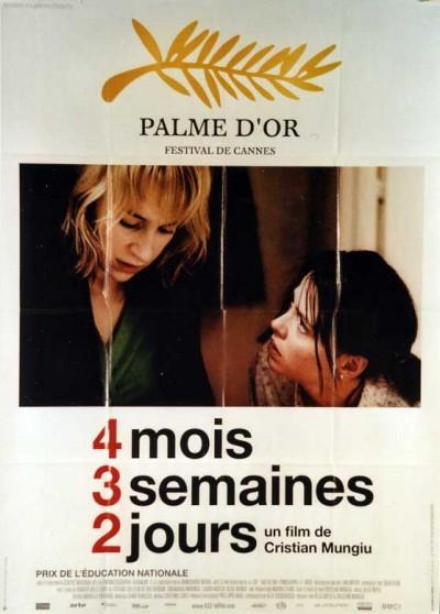 4 LUNI 3 SAPTAMANI SI 2 ZILE movie poster