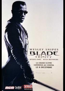 affiche du film BLADE TRINITY