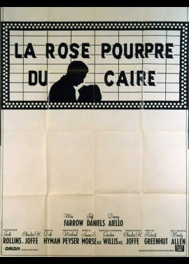PURPLE ROSE OF CAIRO (THE) movie poster
