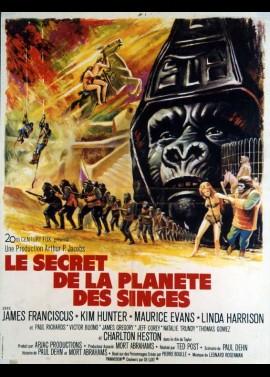 affiche du film SECRET DE LA PLANETE DES SINGES (LE)