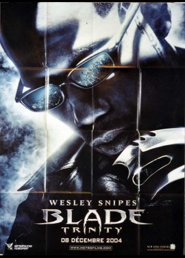 BLADE TRINITY movie poster