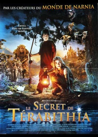 BRIDGE TO TERABITHIA (LE) movie poster